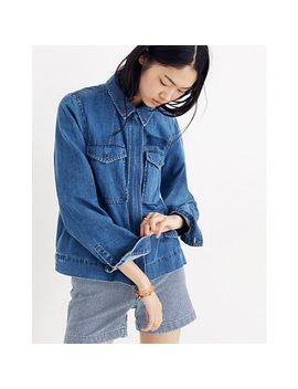 Denim Army Swing Jacket by Madewell