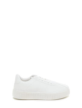 so-slick-faux-leather-creeper-sneakers by gojane