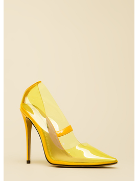 see-you-through-it-clear-pointy-pumps by gojane