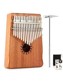 donner-17-key-kalimba-thumb-piano-solid-finger-piano-mahogany-body-dkl-17 by donner