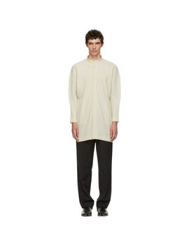 white-mc-july-cardigan by homme-plissÉ-issey-miyake