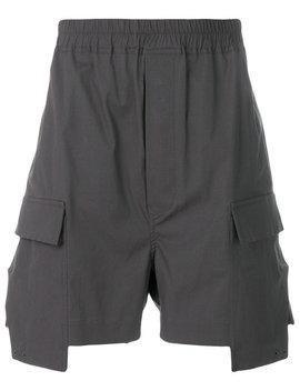 cargo-pocket-shorts by rick-owens