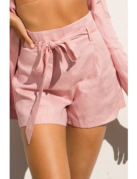 run-the-world-shorts---rose by lola-shoetique