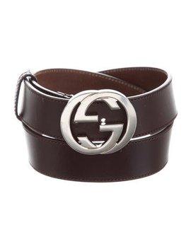 gucci-interlocking-gg-belt by gucci