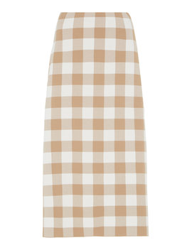 check-skirt by jil-sander