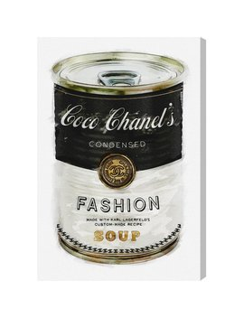oliver-gal-fashion-soup-graphic-art-print-on-canvas-&-reviews by oliver-gal