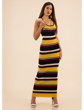 longing-for-a-striped-knit-maxi-dress by gojane