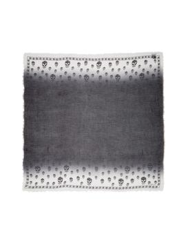 shadowy-skull-modal-&-cashmere-pashmina by alexander-mcqueen