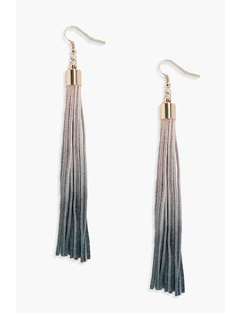daisy-ombre-tassel-earrings by boohoo