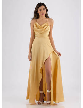 guest-of-honor-draped-satin-gown by gojane