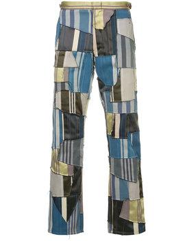 striped-patchwork-pants by comme-des-garçons-vintage