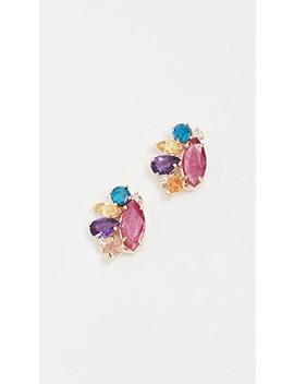 14k-gold-ruby-cloud-stud-earrings by eden-presley