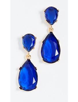 teardrop-earrings by kenneth-jay-lane