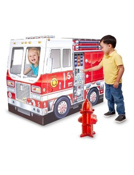 melissa-&-doug-fire-truck-indoor-playhouse by melissa-&-doug
