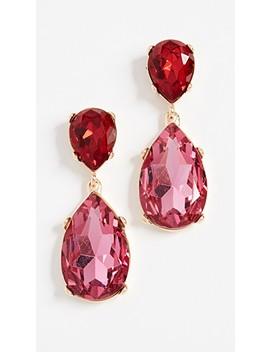 double-teardrop-earrings by kenneth-jay-lane