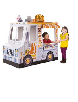 melissa-&-doug-food-truck-indoor-corrugate-playhouse-(over-4-long) by melissa-&-doug