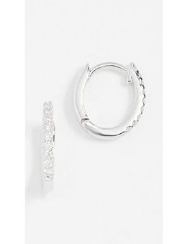 white-diamond-huggie-earrings by dana-rebecca
