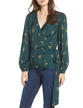 floral-spot-wrap-top by hinge