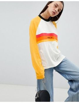 the-ragged-priest-long-sleeve-boyfriend-t-shirt-with-slogan by the-ragged-priest
