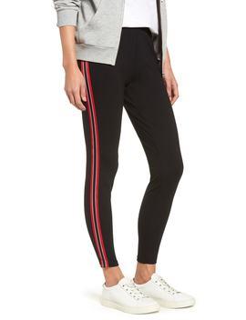 stripe-ponte-skimmer-leggings by nordstrom