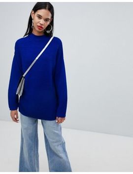 weekday-textured-stripe-knit-sweater by weekday