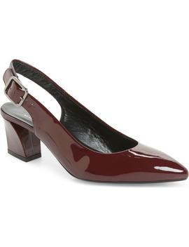 block-heel-slingback-pump by agl