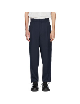 navy-raven-trousers by jil-sander