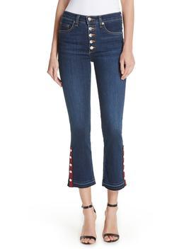 button-hem-baby-boot-jeans by veronica-beard