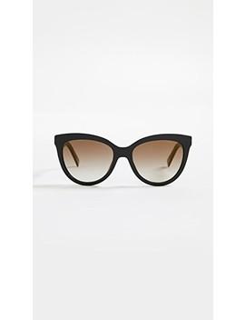 round-slight-cat-eye-sunglasses by marc-jacobs