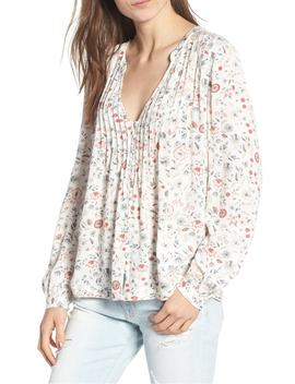 sia-floral-plunge-top by ag