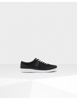 womens-original-lo-canvas-sneakers by hunter
