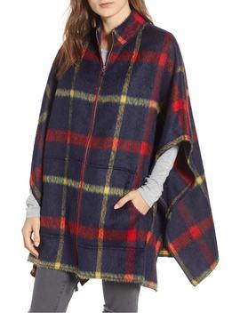 blanket-plaid-cape by treasure-&-bond