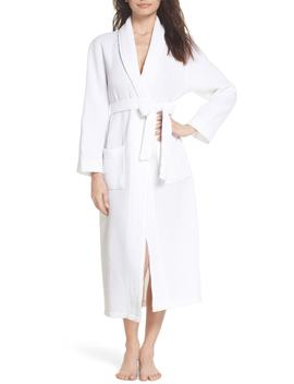cotton-waffle-knit-robe by papinelle