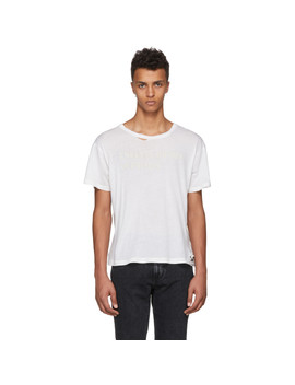 ssense-exclusive-white-classic-logo-t-shirt by enfants-riches-dÉprimÉs