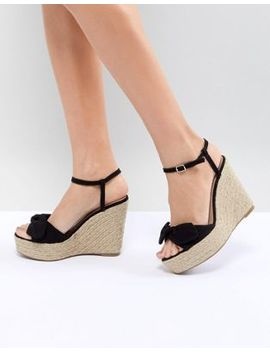 new-look-suedette-bow-wedge by new-look