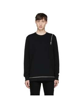 black-s-icicle-sweatshirt by diesel
