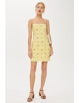 bead-and-lace-slip-dress by topshop