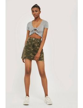 tall-camouflage-denim-skirt by topshop