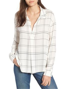 henley-woven-shirt by leith