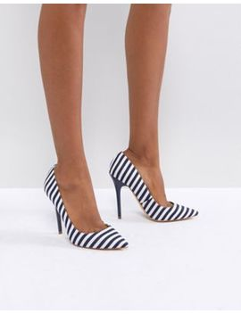 office-on-tops-striped-court-shoes by office