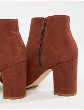 new-look-wide-fit-suedette-block-heel-boot by new-look