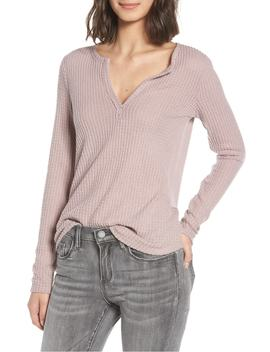 thermal-henley-top by socialite