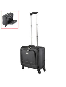 """16"""" Travel Carry On Luggage Laptop Trolley Bag Universal 4 Wheels Business Case by Unbranded"""