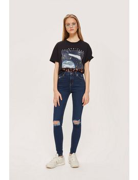 moto-indigo-rip-jamie-jeans by topshop