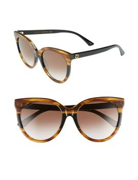 55mm-round-sunglasses by gucci