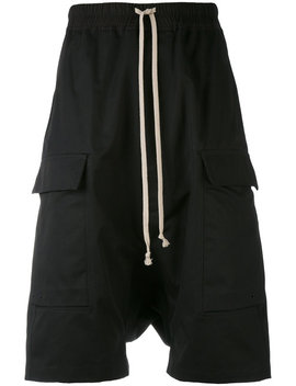 slouch-shorts by rick-owens