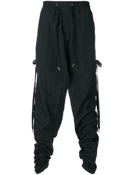 elasticated-waist-track-trousers by dgnak