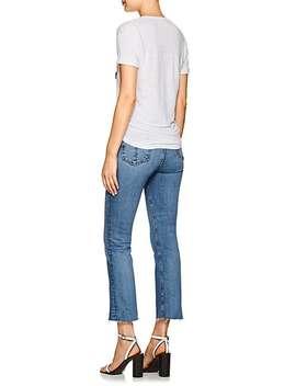 koldia-flocked-linen-t-shirt by isabel-marant-Étoile