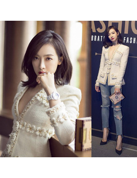 small-fragrant-wind-tweed-jacket-female-short-paragraph-style--suit-winter by z&i