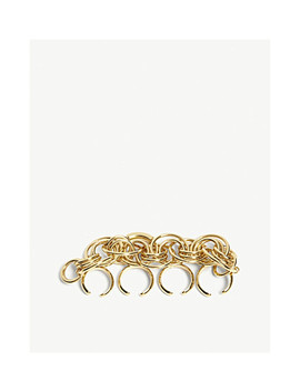 reese-gold-toned-knuckle-ring by chloe